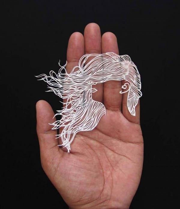 Дыхание жизни в бумажном кружеве: удивительные работы Parth Kothekar