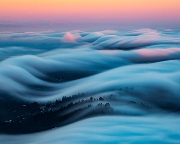 Завораживающие снимки тумана от Ника Стайнберга